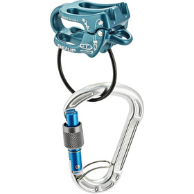 Climbing Technology Be-Up Belay Kit, blue